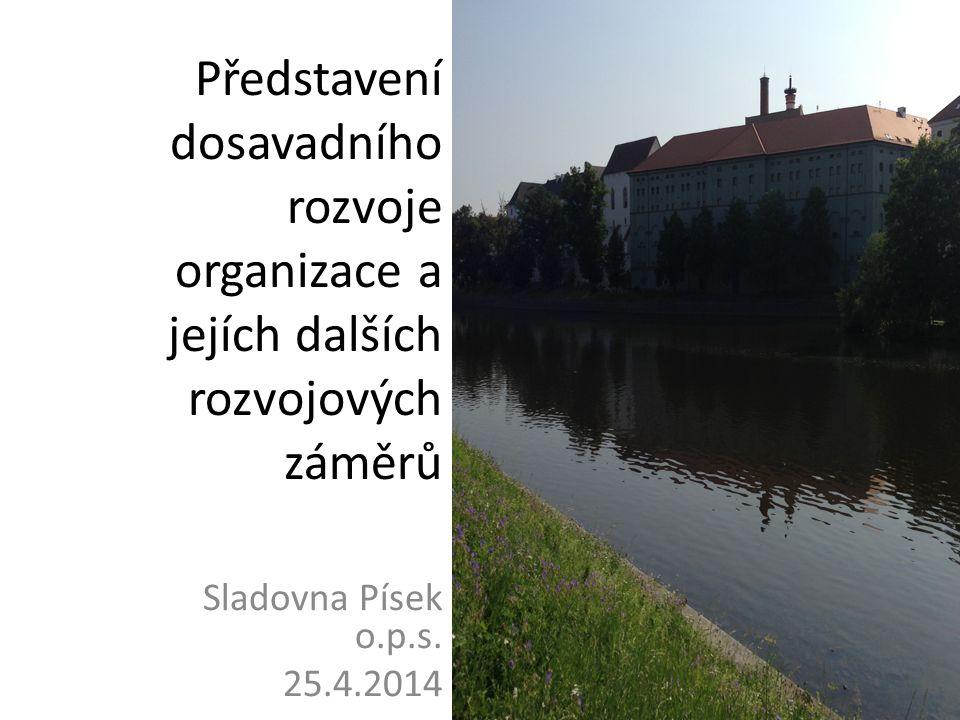 Představení dosavadního rozvoje organizace a jejích dalších rozvojových záměrů Sladovna Písek o.p.s. 25.4.2014