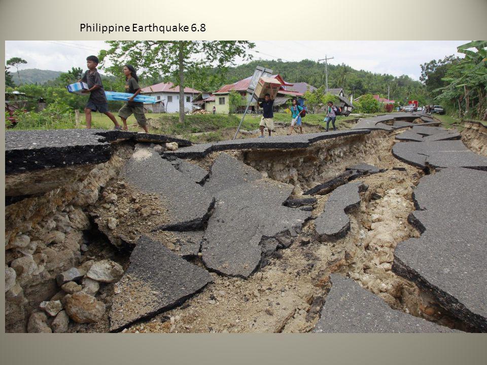 Philippine Earthquake 6.8