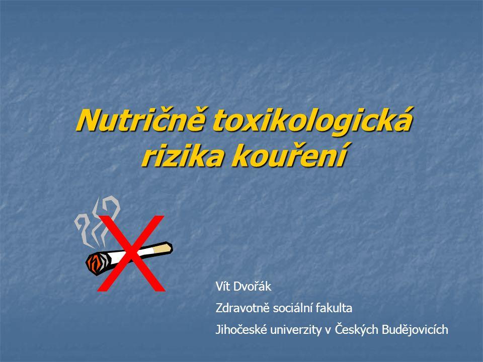 Nikotin Jedna z nejnávykovějších drog Jedna z nejnávykovějších drog rostlinný alkaloid rostlinný alkaloid snadno se vypařuje, dobře se rozpouští ve vodě, lihu i rostliných olejích snadno se vypařuje, dobře se rozpouští ve vodě, lihu i rostliných olejích nejvíce - v listech (65% celkového obsahu nikotinu v rostlině) nejvíce - v listech (65% celkového obsahu nikotinu v rostlině) obsah nikotinu v cigaretách uváděných do oběhu nesmí být vyšší než 1 mg na cigaretu obsah nikotinu v cigaretách uváděných do oběhu nesmí být vyšší než 1 mg na cigaretu