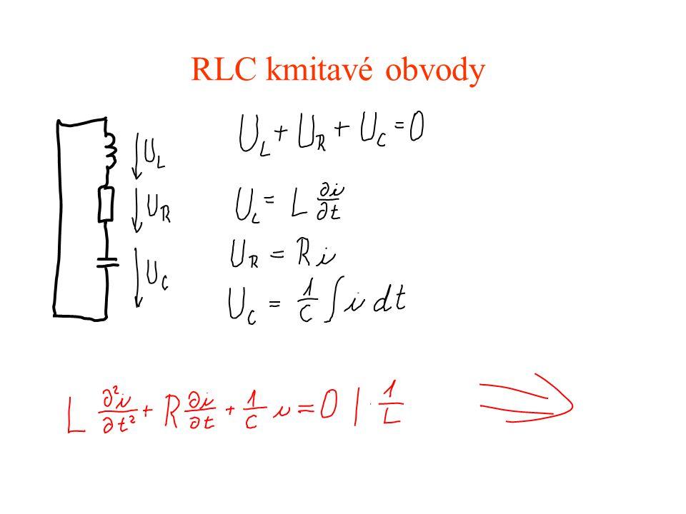 RLC kmitavé obvody