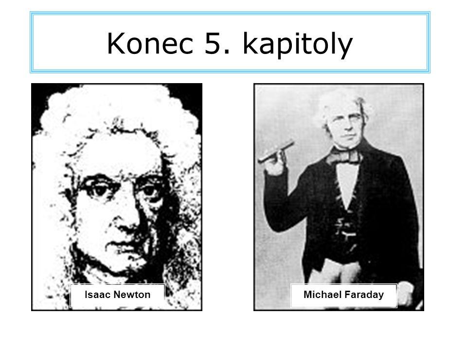 Konec 5. kapitoly Isaac NewtonMichael Faraday