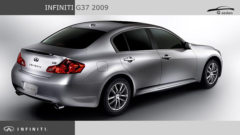 INFINITI G37 2009 G sedan