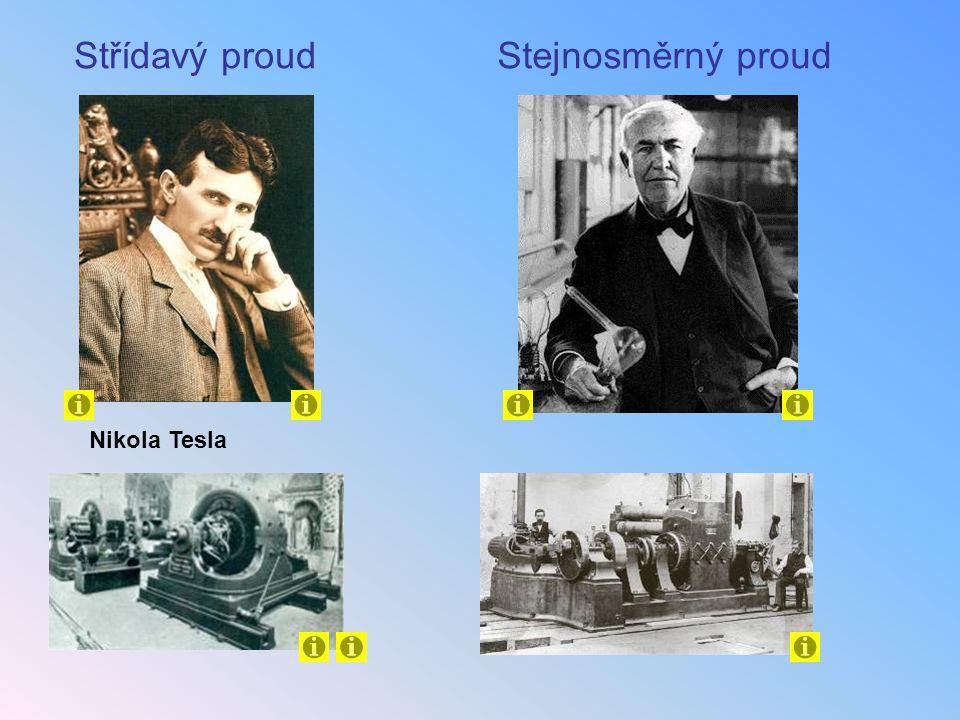 Nikola Tesla Střídavý proudStejnosměrný proud