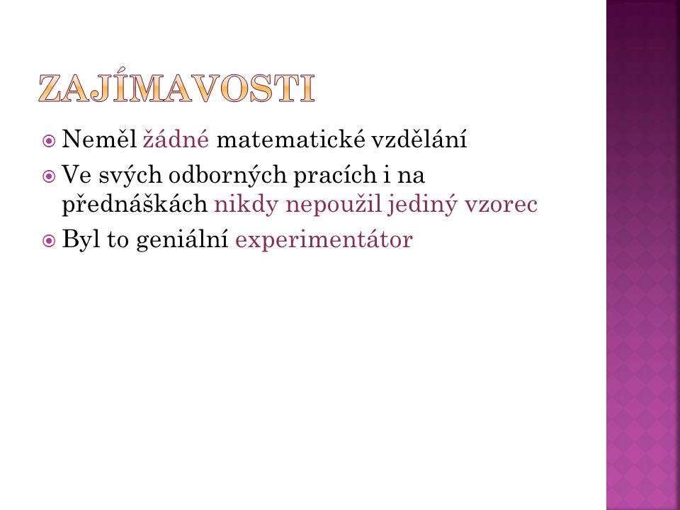  Autoři: Anna Handlířová a Veronika Filová  Zdroj: hptt://www.converter.cz/fyzici/faraday.htm kniha Galerie géniů- 222 osobností, které změnily svět