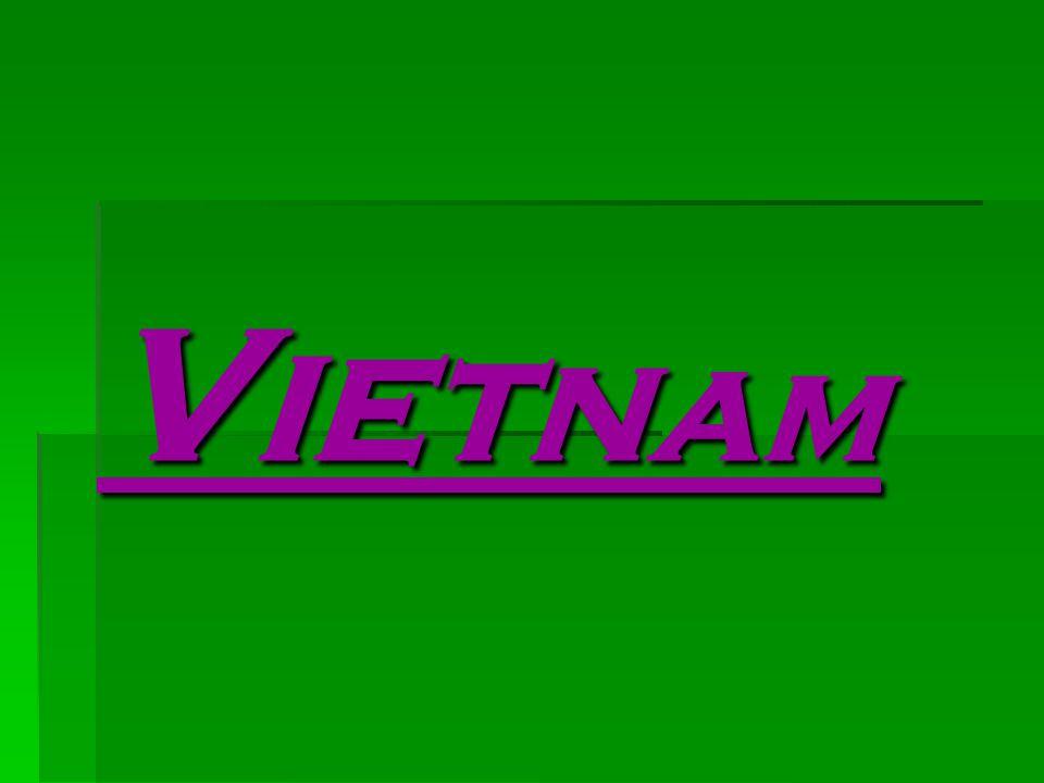 VVVVietnam (Socialistická republika Vietnam) je stát v jihovýchodní Asii na východě poloostrova Zadní Indie při pobřeží Jihočínského moře s více než dvoutisíciletou historií.