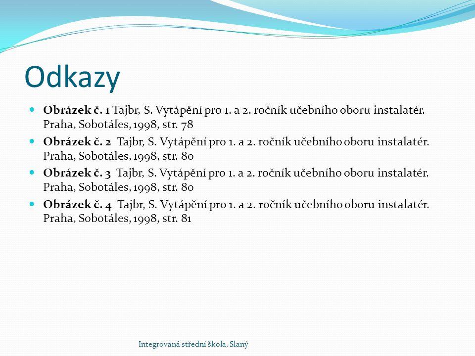 Konec prezentace Integrovaná střední škola, Slaný