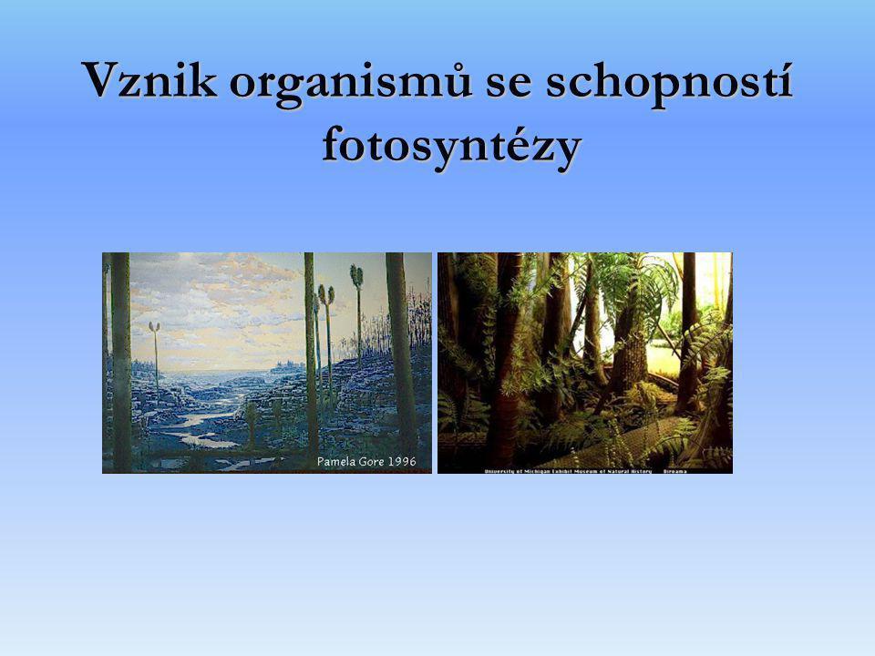Vznik organismů se schopností fotosyntézy
