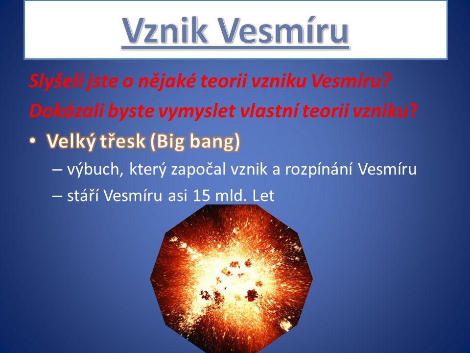 Objevování a dobývání vesmíru 1.přistání na Měsíci první občan naší republiky v kosmu první člověk ve vesmíru první fotografie odvrácené strany Měsíce první žena ve vesmíru první vesmírný turista první živý tvor ve vesmíru první uměla družice Valentina Těreškovová 16.6.1963 Apollo 11 (20.7.1969) Sputnik 1 (4.10.1957) pes Lajka (3.11.1957) Jurij Gagarin (12.4.1961) sonda Luna 3 (4.10.1959) Vladimír Remek (2.3.1978) Denis Tito (2001)