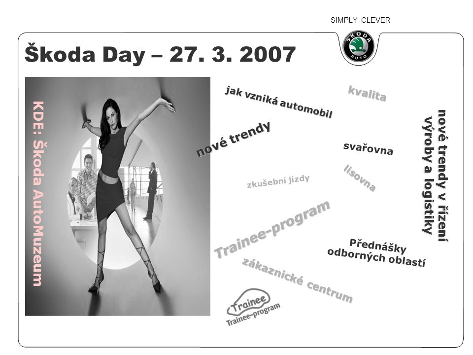 SIMPLY CLEVER Škoda Day – 27.3.