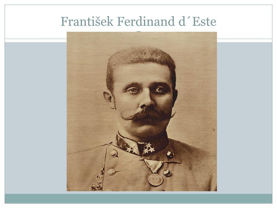 František Ferdinand d´Este
