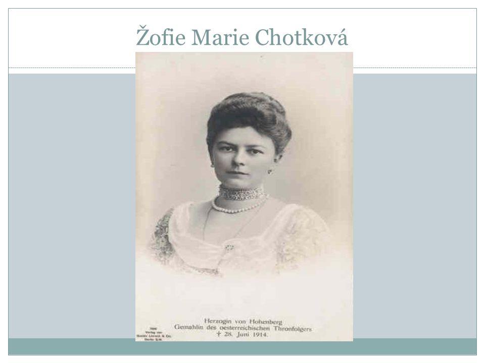 Žofie Marie Chotková