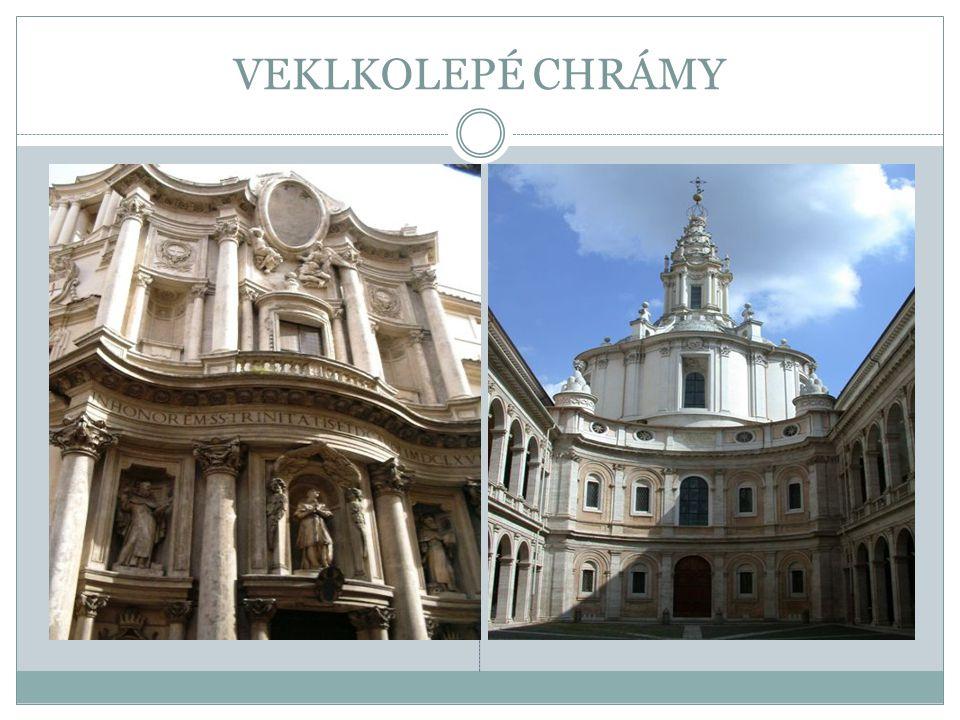 ČESKÉ BAROKO Původně cizí barokní styl v českých zemích rychle zdomácněl, a dokonce se přetvořil v typické české baroko.