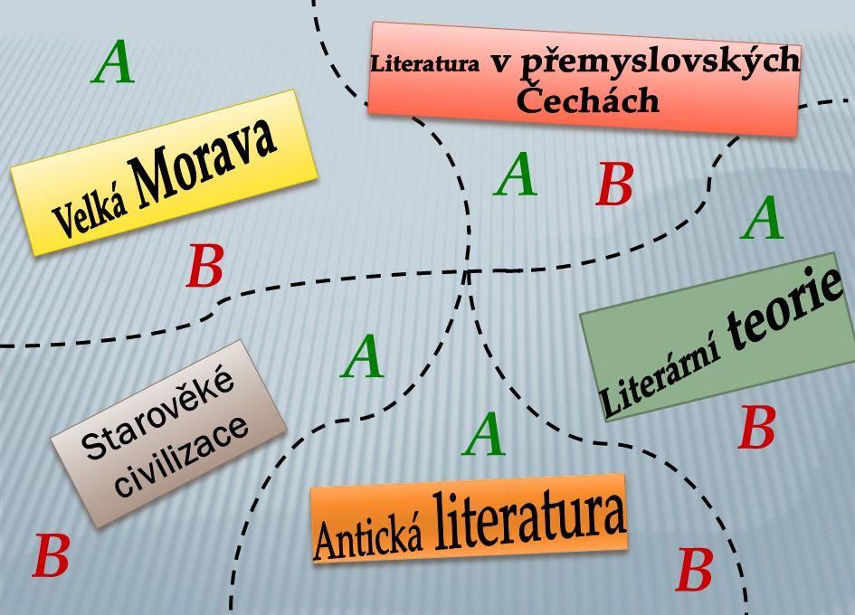 Literatura v přemyslovských ČecháchA A) staroslověnsky B) latinsky C) česky 1.