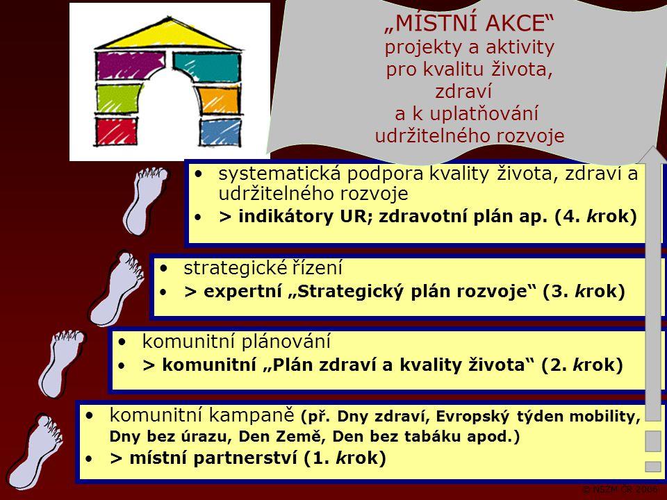 © NSZM ČR 2006 komunitní kampaně (př.