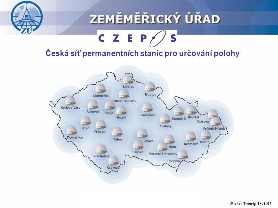 Česká síť permanentních stanic pro určování polohy