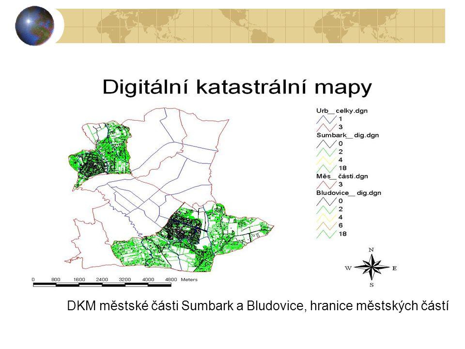DKM městské části Šumbark a Bludovice, hranice městských částí