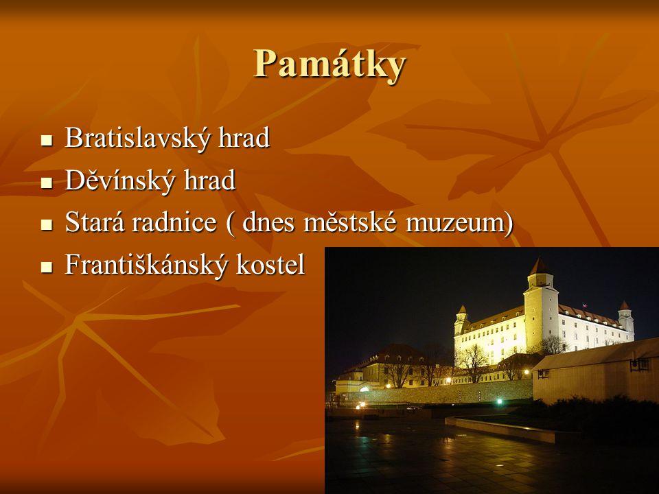 Františkánský kostel Nejstarší zachovalý v Bratislavě Nejstarší zachovalý v Bratislavě Byl místem rytířských ceremonií Byl místem rytířských ceremonií