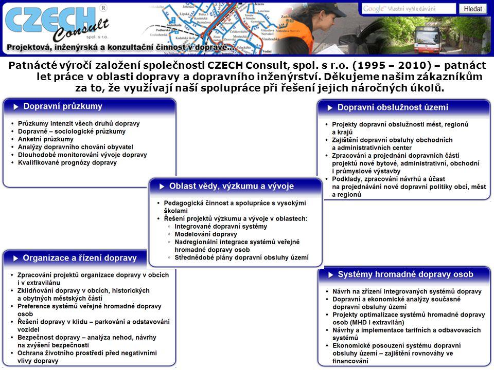 Patnácté výročí založení společnosti CZECH Consult, spol.