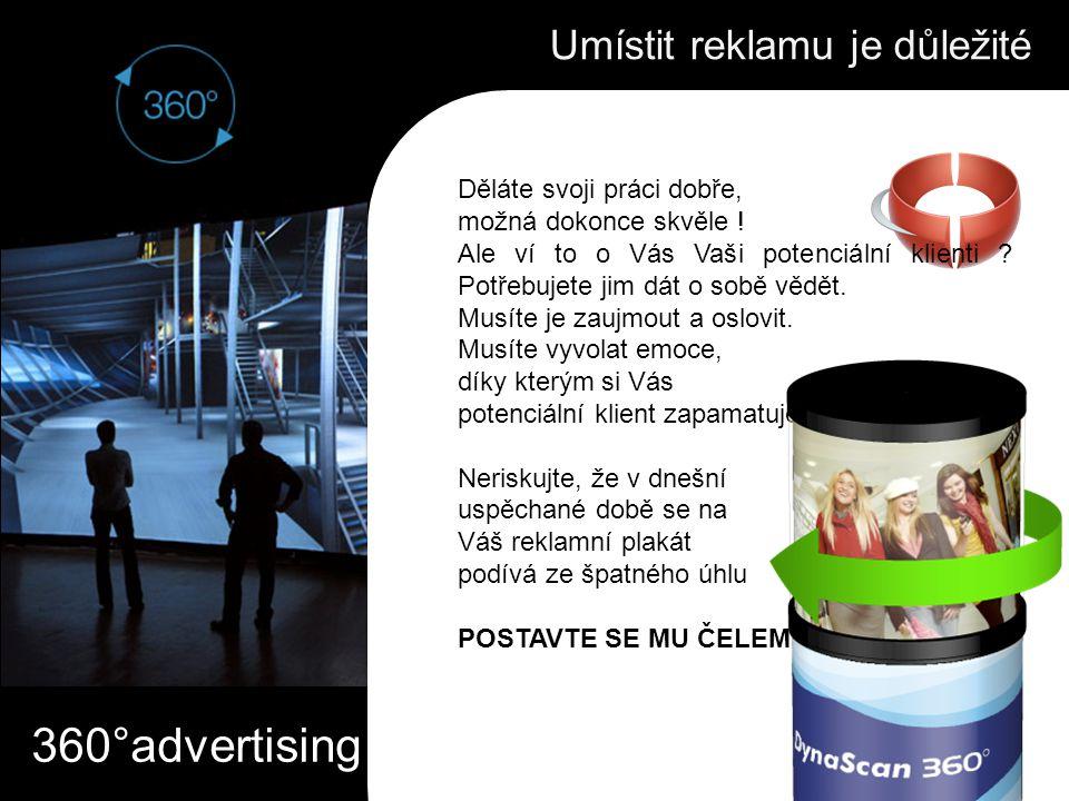 Umístit reklamu je důležité Děláte svoji práci dobře, možná dokonce skvěle .