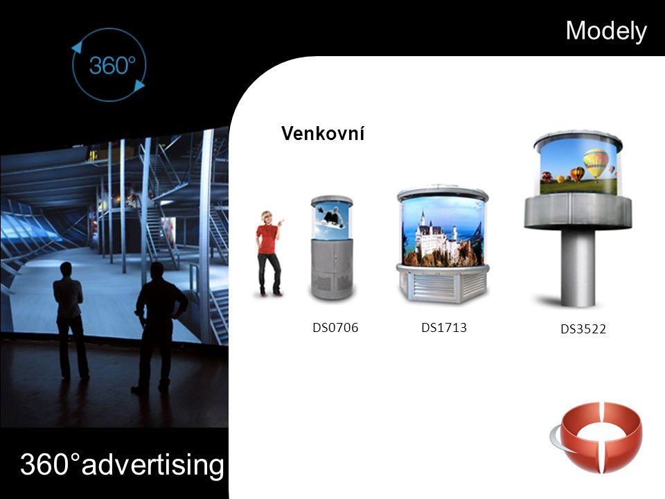 360°advertising Modely Venkovní DS0706DS1713 DS3522