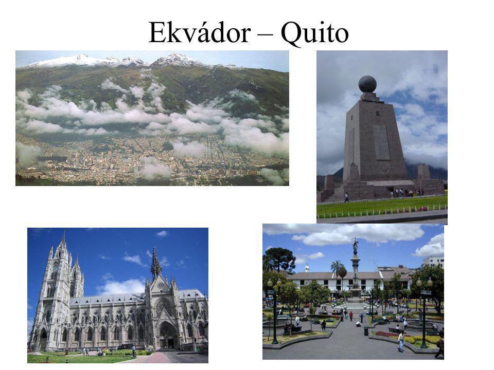 Ekvádor – Quito