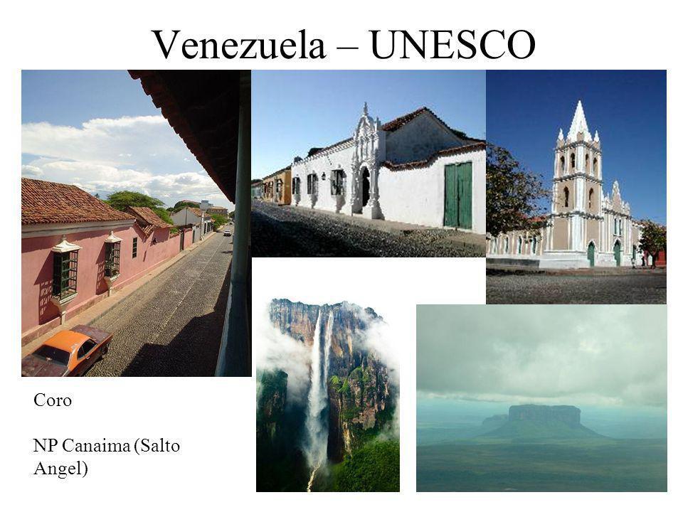Venezuela – UNESCO Coro NP Canaima (Salto Angel)