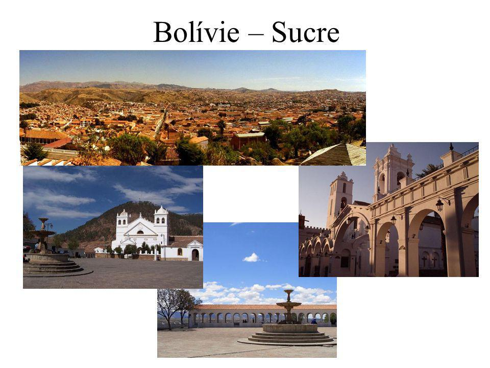 Bolívie – Sucre