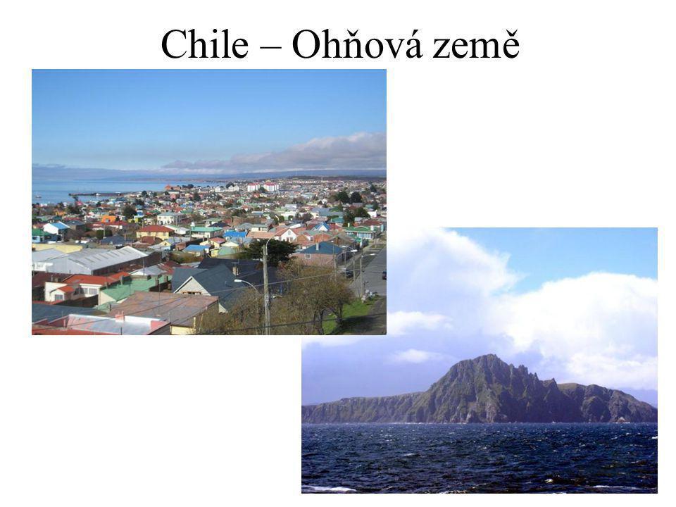 Chile – Ohňová země
