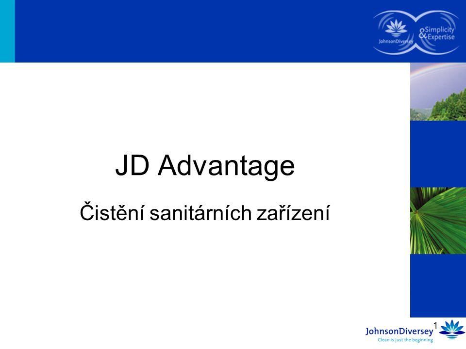 1 Čistění sanitárních zařízení JD Advantage