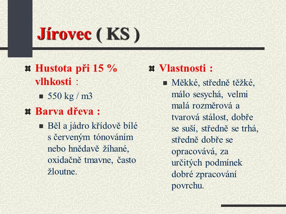 Jírovec ( Aesculus hippocastanum L.