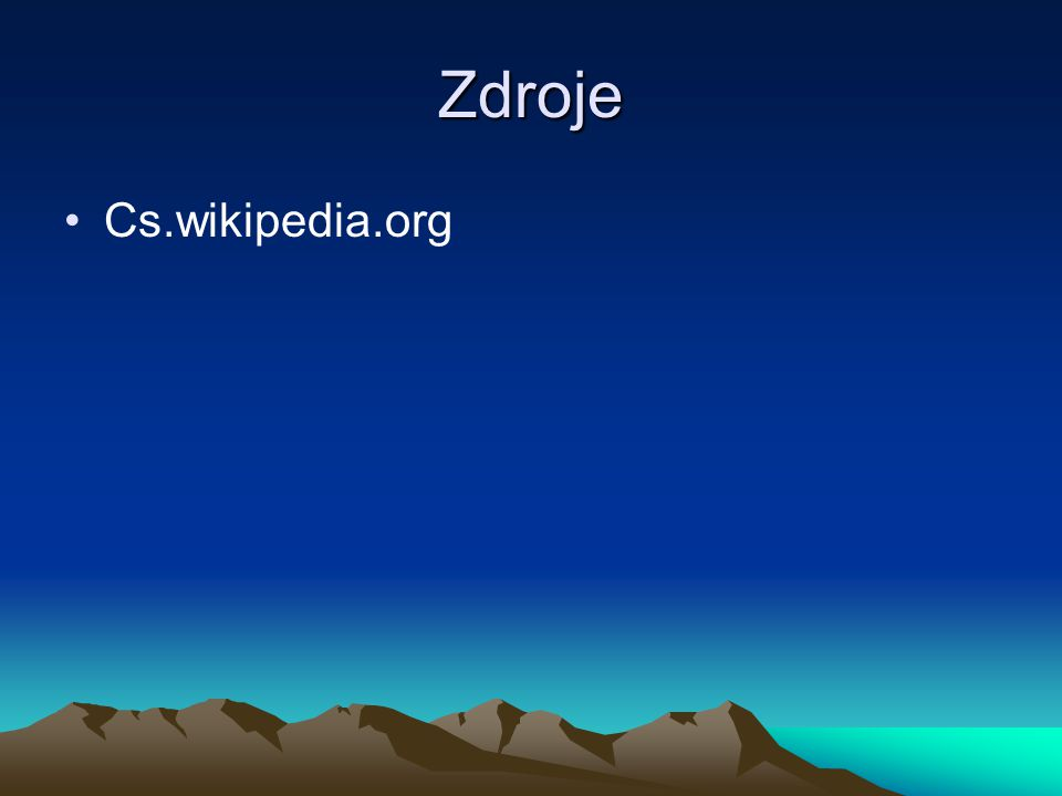 Zdroje Cs.wikipedia.org