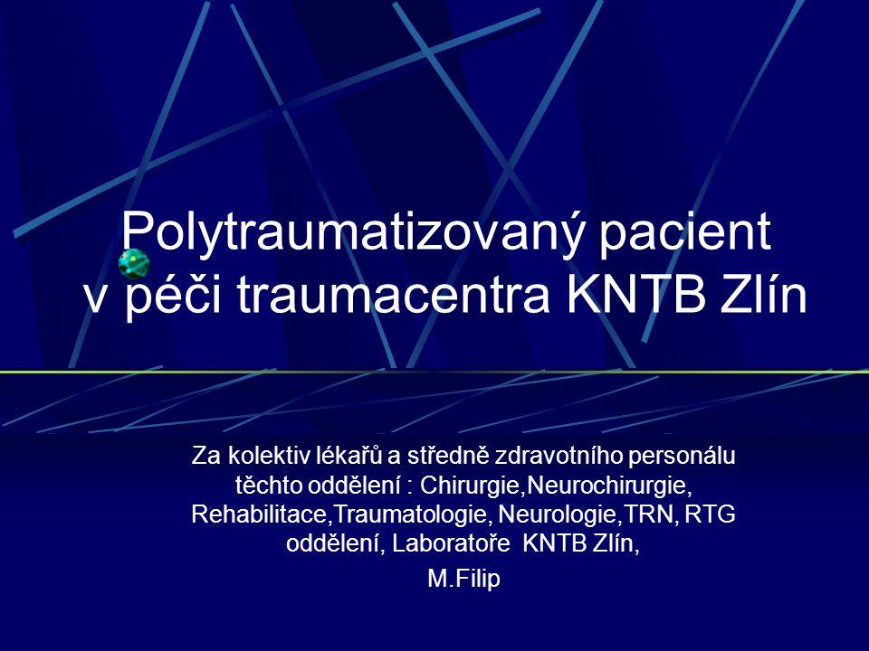 Spádová oblast traumacentra Zlín CT