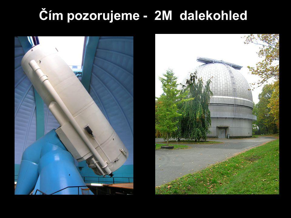 Čím pozorujeme - 2M dalekohled