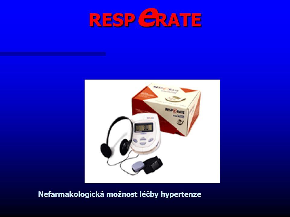 RESP e RATE Nefarmakologická možnost léčby hypertenze