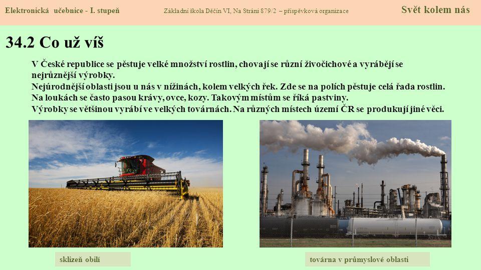 34.3 Zemědělství ČR Elektronická učebnice - I.