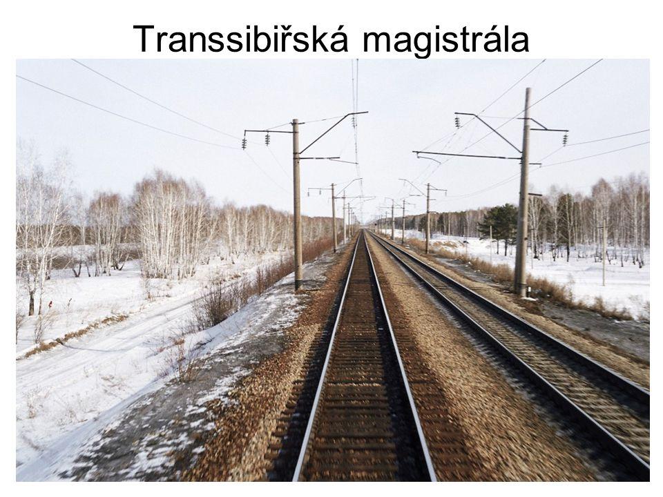 Transsibiřská magistrála