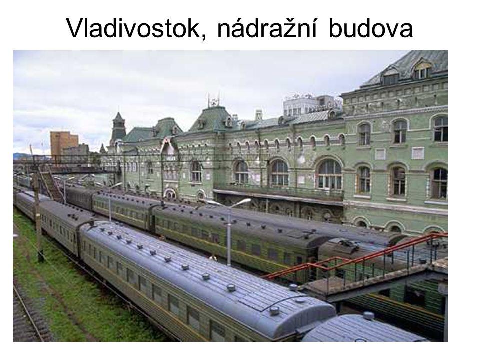 Vladivostok, nádražní budova