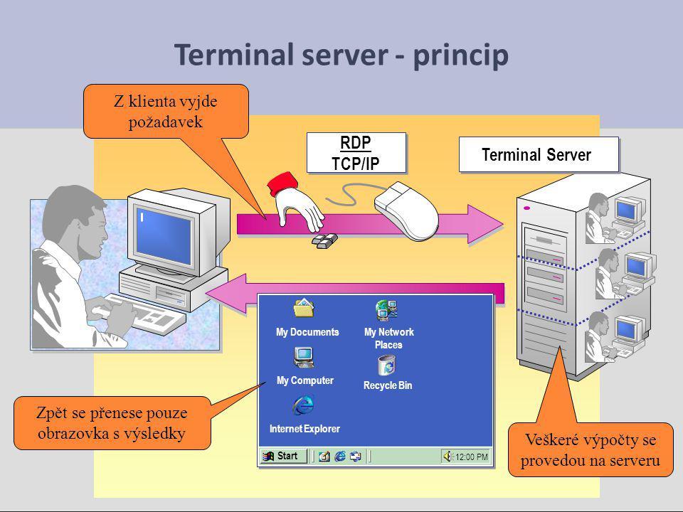 """Možnosti Microsoft Update Microsoft Update Internet, automatická práce: zdroj oprav je na serveru v Internetu, jejich instalace je víceméně automatická 1) Internet, automatická práce: zdroj oprav je na serveru v Internetu, jejich instalace je víceméně automatická 2) ruční práce: Stáhneme balíčky, uložíme jako soubory a standardně je """"ručně instalujeme 3 ) WSUS – server pro automatické opravy, stáhne opravu 1x a distribuuje ji po celé síti Windows Server Update Services"""