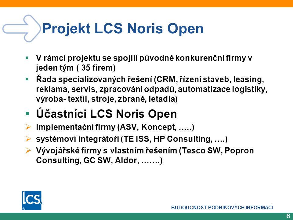 BUDOUCNOST PODNIKOVÝCH INFORMACÍ 7 Reference  POPRON  MERO ČR (správa ropovodů)  Stavby silnic a železnic  PSJ Holding  EOP, a.s.