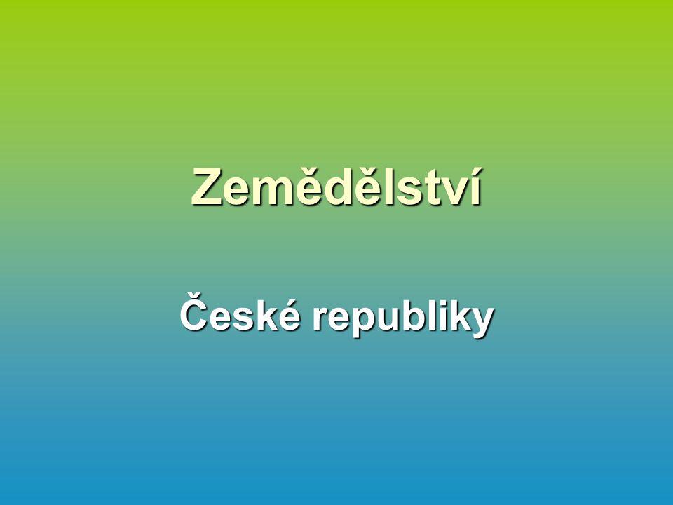 Zemědělství České republiky