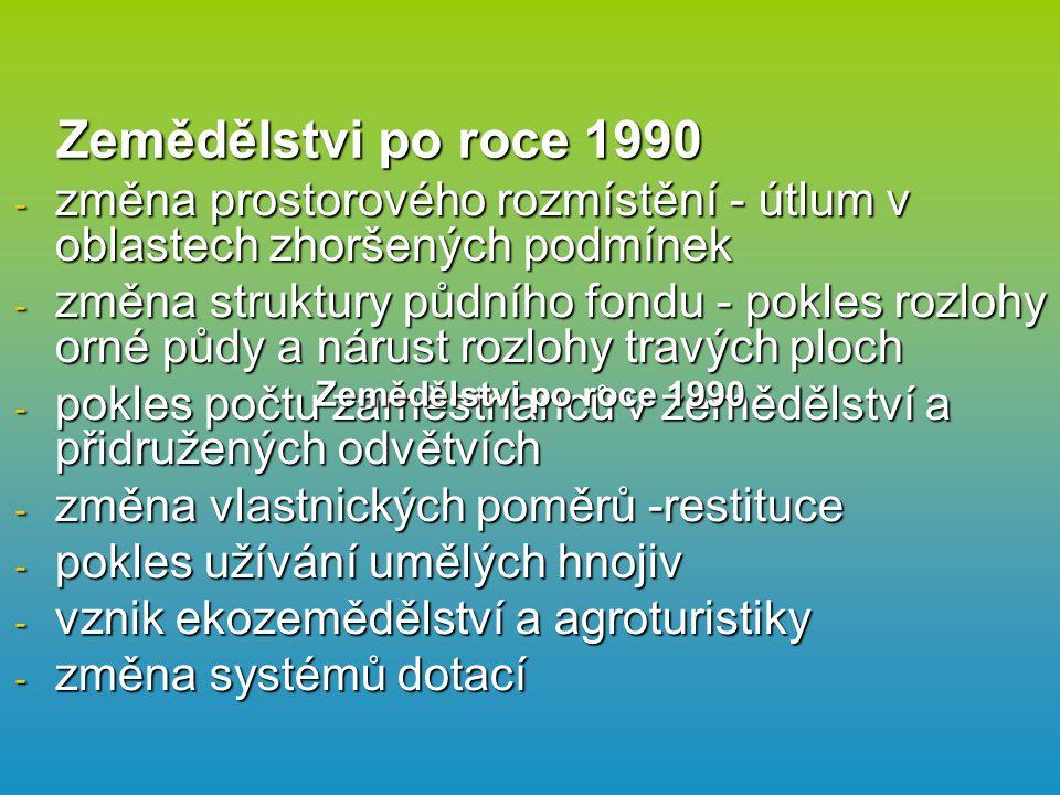 Hlavní užitkové rostliny pěstované v ČR Obiloviny - pšenice, ječmen, kukuřice, žito, oves.