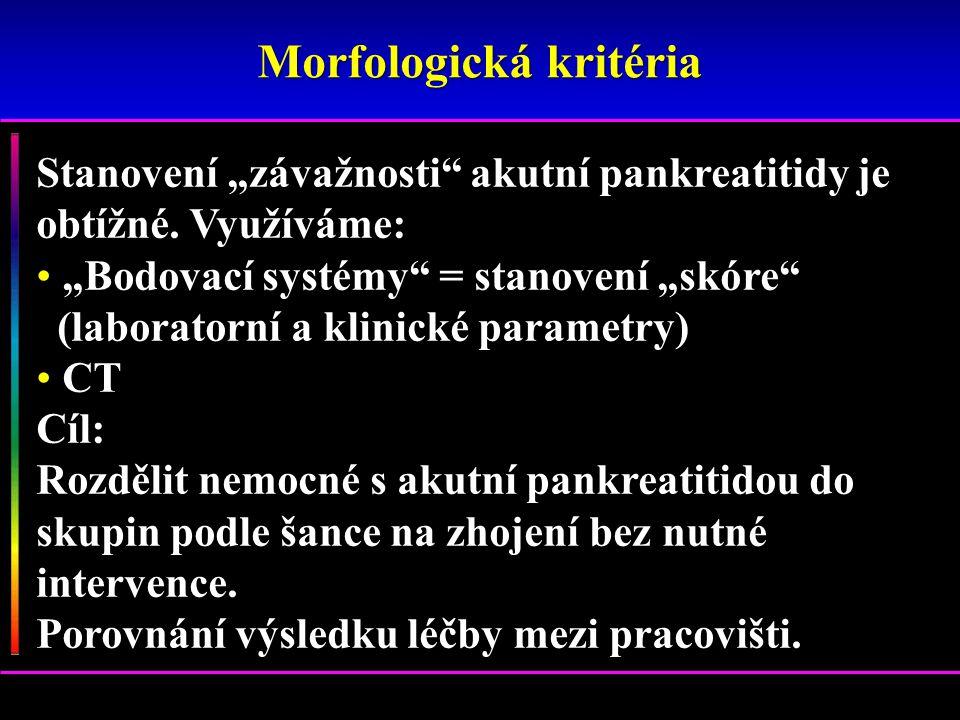 Žlábková pankreatitis 13.04.2010