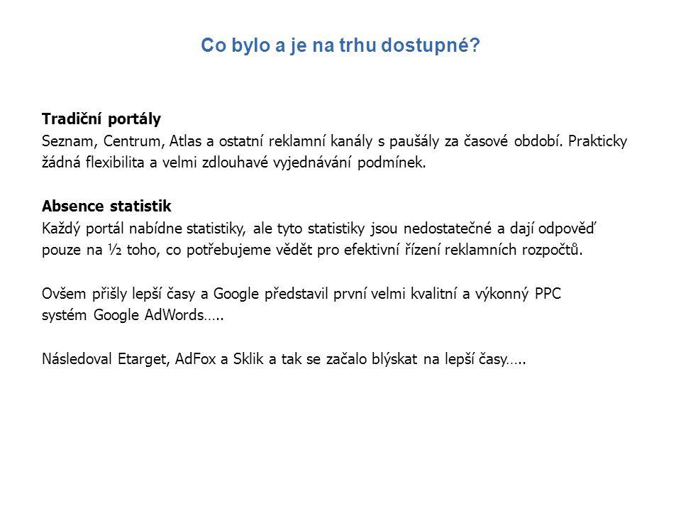 Net Travel.cz a Net Travel.sk inzeruje cca 1200 reklamních kampaní na AdWords, Sklik, Etarget a AdFox.
