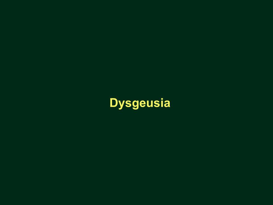 Dysgeusia