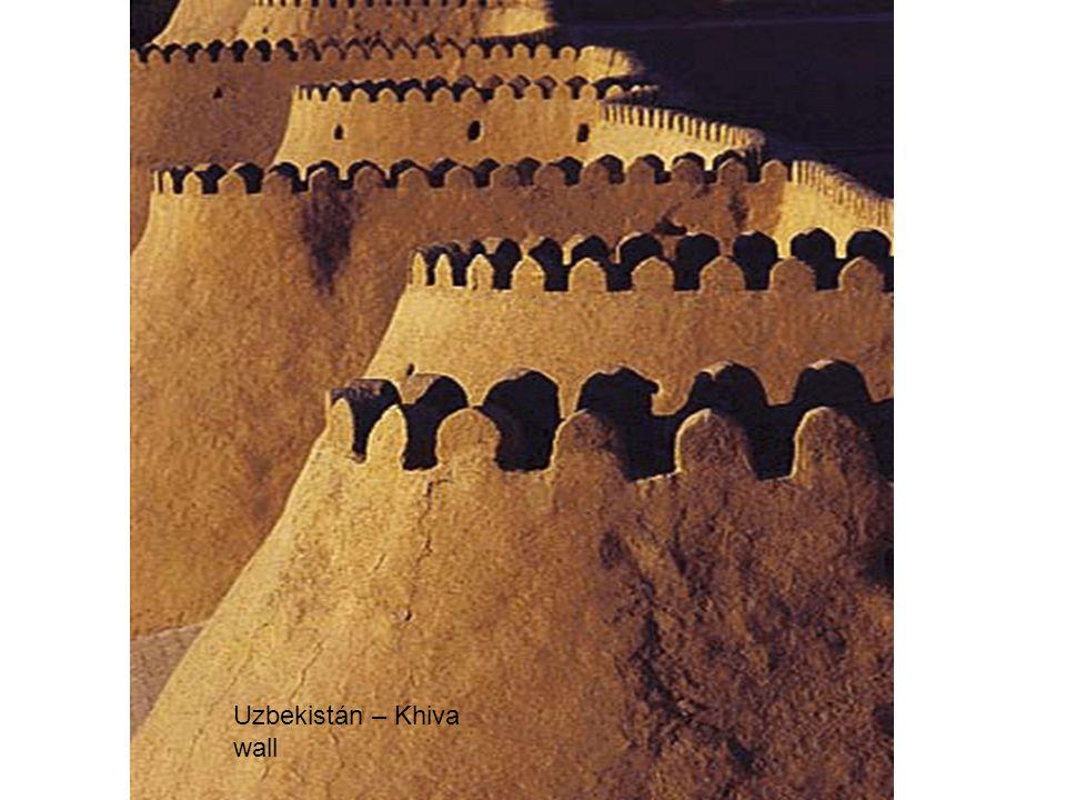 Uzbekistán – Khiva wall