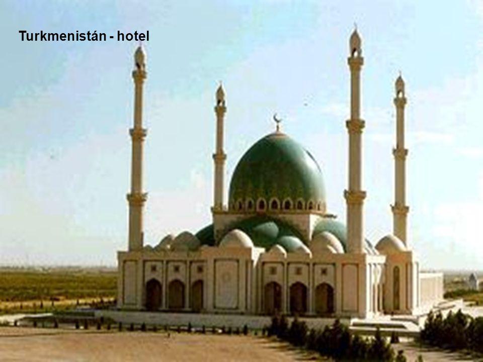Turkmenistán - hotel