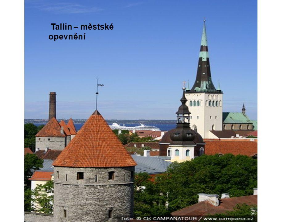 Tallin – městské opevnění