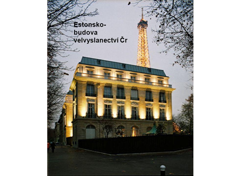 Estonsko- budova velvyslanectví Čr