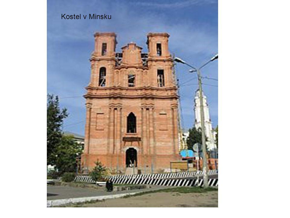 Kostel v Minsku