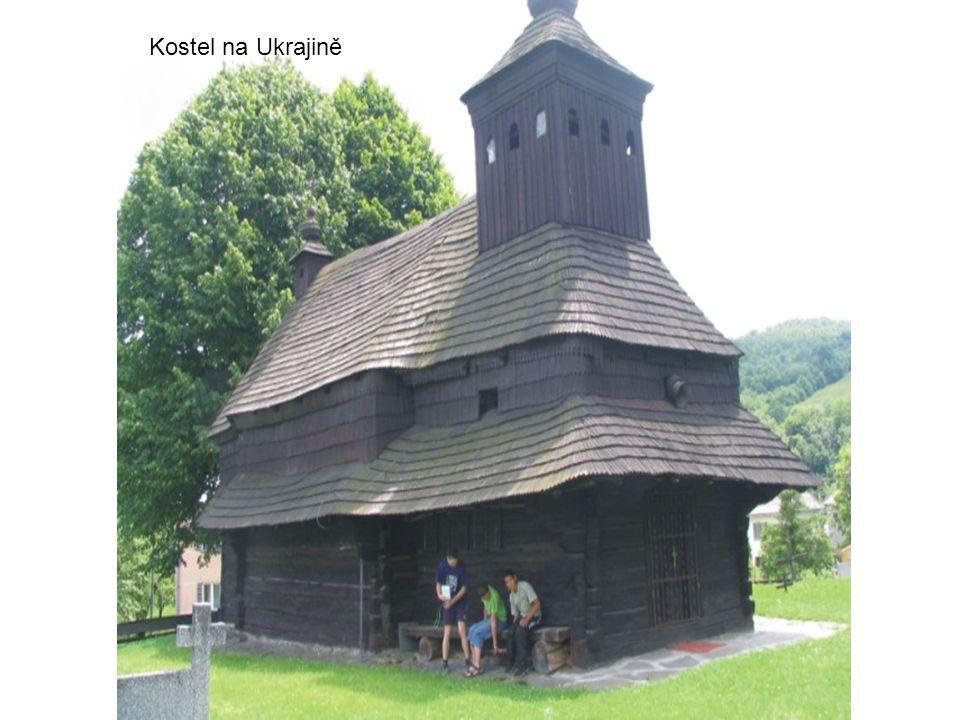 Kostel na Ukrajině